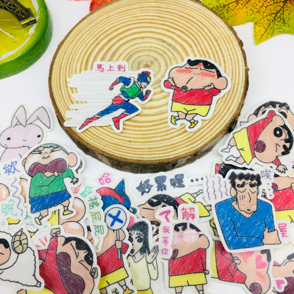 40 Pcs/lot Anime naughty boy Scrapbooking Stickers Car Case Waterproof Laptop Bicycle kids toys Backpack waterproof Sticker