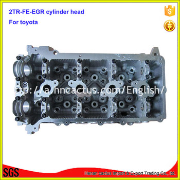Bare 2TR-FE-EGR cylinder head 2TR 11101-0C040 11101-0C030 head cylinder for toyota hiace