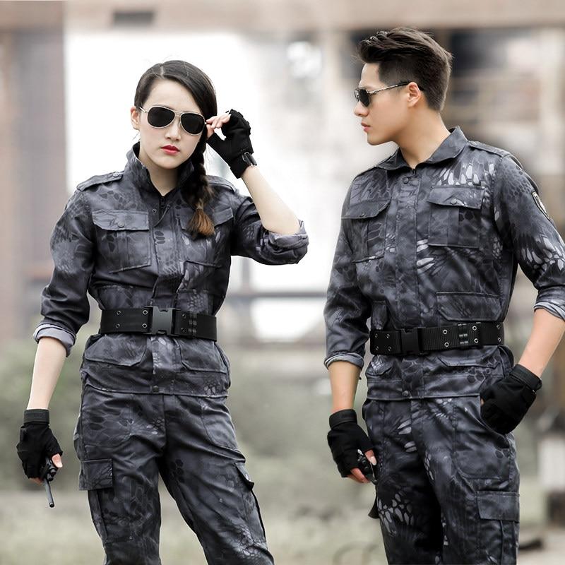 7244317d754f4 2017spring tactical camouflage suit ww2 u.s uniform military men's tactics suits  german wwii uniforms Hunting Clothes