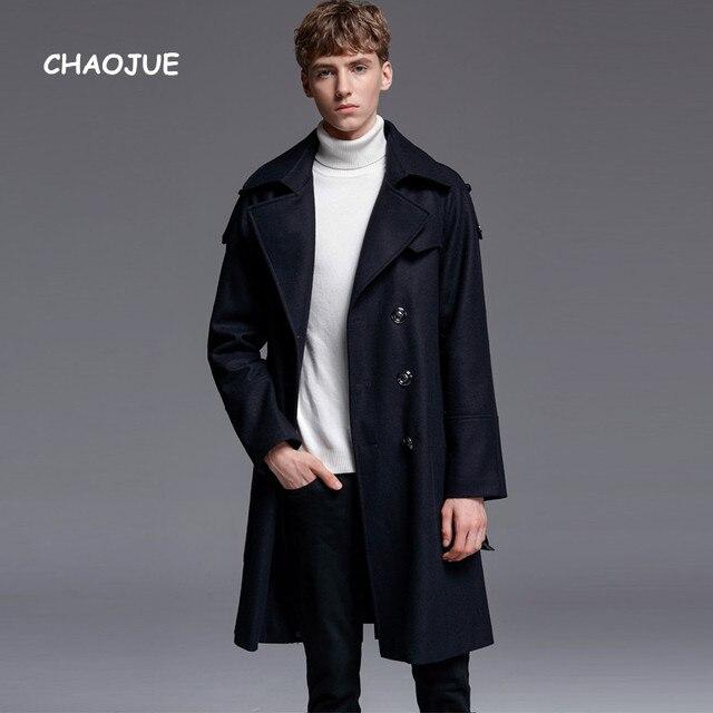 Causal CHAOJUE abrigo lana moda 70 marca para estilo de hombre wpYrw