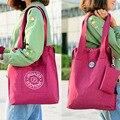 2017 Bolso de Las Mujeres Grandes de Nylon Ocasional Hombro Bolsa de Gran Capacidad de la Moda Marca de Diseño 14 colores bolsas de Mano A Prueba de agua