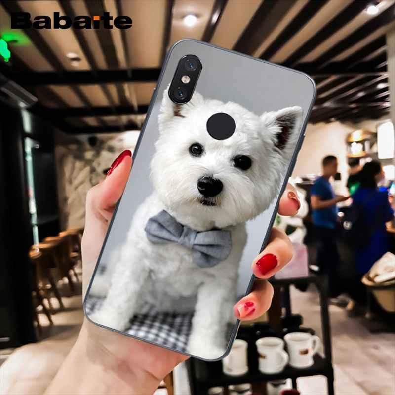 Babaite Westie Terrier Anjing Highland Terrier Phone Case untuk Xiaomi MiA1 A2 Lite F1 Redmi8 6A 4X 5Plus s2 Note7 8Pro 5A 7A