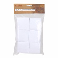 Tourbon 300Pcs Cotton Gun Cleaning Patches for Pistol & Rifle 2-1/4 X Shotgun Kits