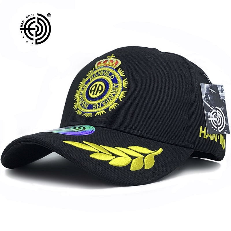 HAN WILD Brand Wheat Polyester   Baseball     Caps   US Airborne Men Women New Gun Tactical   Cap   Shooter Army Fans Waterproof Crown Hat