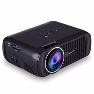 HDMI U80 Mini Projector 2000 Lumens LCD Home Theater Beamer LED Uhappy Proyector