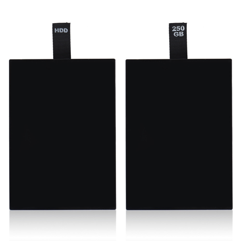 HDD Hard Drive Disk Kit para XBOX 360 Internal Slim black - Juegos y accesorios