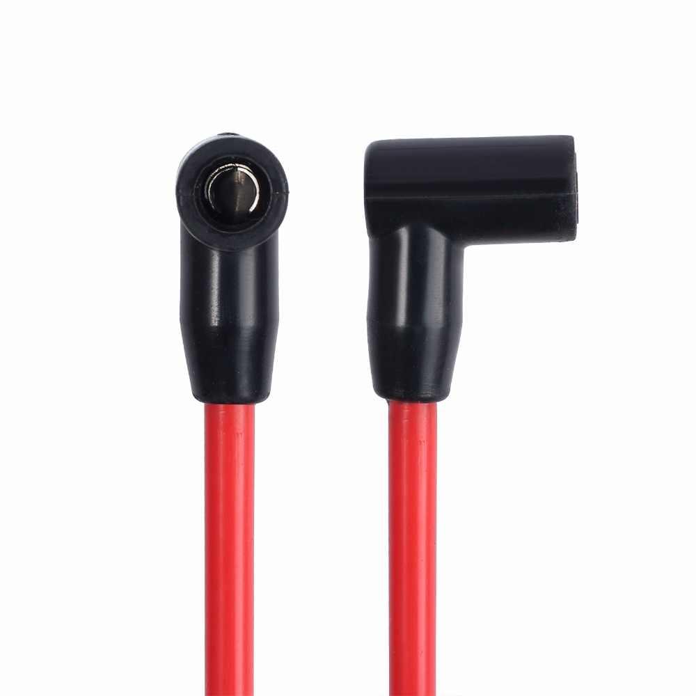 AUTOUTLET 9pcs 7.5MM Spark Plug Wires Plug Set For SBC BBC Chevrolet HEI 350 383 454 Electronic D030-PW-SBC350