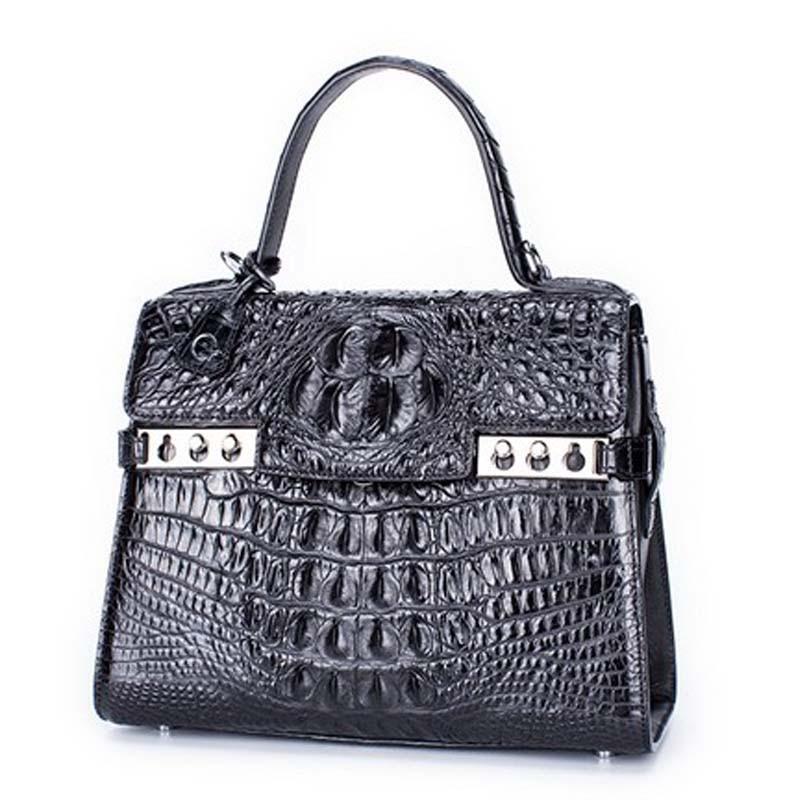 presale style gete 2017 new hot free shipping crocodile font b women b font handbag thailand