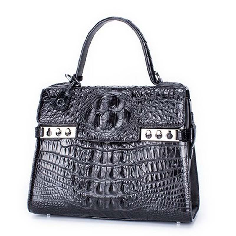 presale style gete 2017 new hot free shipping crocodile women handbag thailand women bag lady really crocodile bag leather bag