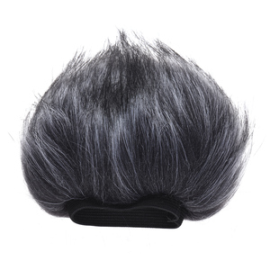 Image 1 - 12cm*12cm (L*D) EY M23 Furry Outdoor Microphone Windscreen Artificial Fur Muff Wind Cover for Zoom H1 H2N H4N Pro H6 for Sony