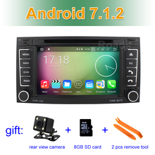 Android 7.1 Car DVD Player for VW T5 Transporter Multivan Touareg 2004-2011 GPS System with wifi Bluetooth Stereo Radio