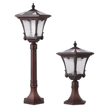 Outdoor garden LED solar lamp  Decorative New and modern LED lawn light factory direct sales and sample customization