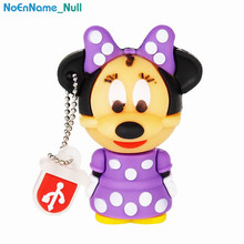 USB Flash Drive 128GB Mouse Mickey and Minnie pen drive 2.0 Animal cartoon pendrive 4GB 8GB 16GB disk 32GB 64GB