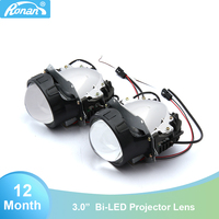 RONAN 3.0 Bi LED Projector Car Styling Universal Headlights Lens OS RAM Chip High Low Beam Auto Headlamp Light Retrofit