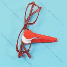 10pcs Mini Microfibre Glasses Cleaner Microfibre Spectacles Sunglasses Eyeglass Cleaner Clean Wipe Tools Wholesale WY2703