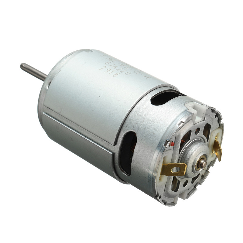 555 DC Motor 12-24V large torque Drill & Ball Bearing & Screwdriver Tool Motor