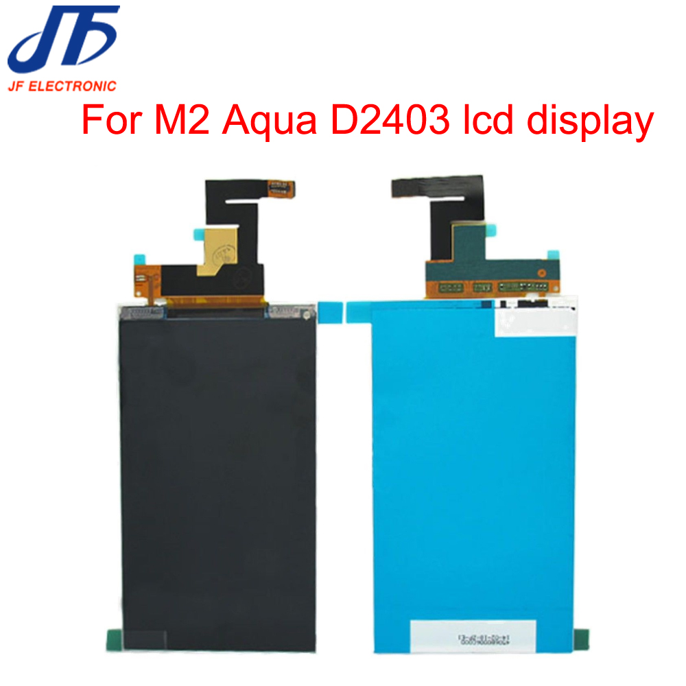 LCD Display For Sony Xperia M2 S50H M2 Aqua D2403 LCD Panel Screen Replacement Parts 10pcs