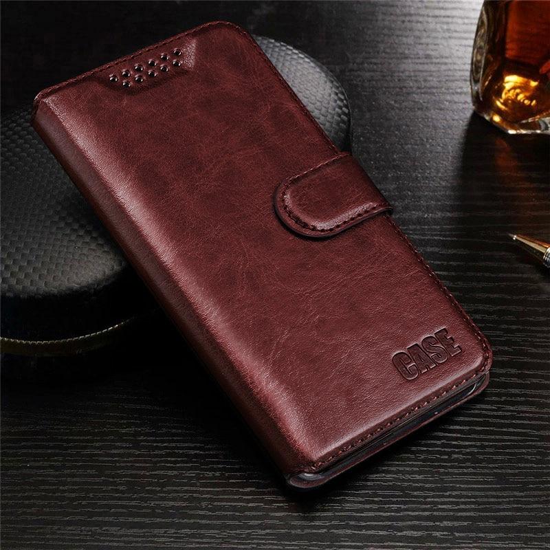 For Leagoo M5 Case 5.0 inch Luxury PU Leather Back Cover Case For Leagoo M5 Case Flip Protective Phone Bag