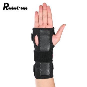 Ochraniaczami Zwichnięcie Jeden Rozmiar Prezent Bezpieczeństwa Bandaż Wygodne Wrist Ochrona Wrap Czarny Wielofunkcyjny Medyczne Straż Brace