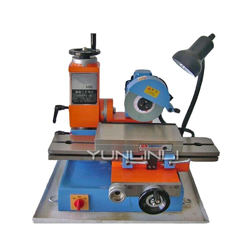 600 Universal Ferramenta de Moagem de Máquina 220 V/380 V Pequeno Superfície Moedor de Fresa para o REINO UNIDO