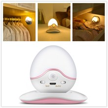 Amagle USB Rechargeable Roly poly Night Light Magnetic Wall Lamp Infrared PIR