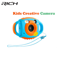 New upgraded lithium battery 5MP Mini Kid Cameras Photo Digital Portable Cute Neck Child HD Projection Digital Cameras