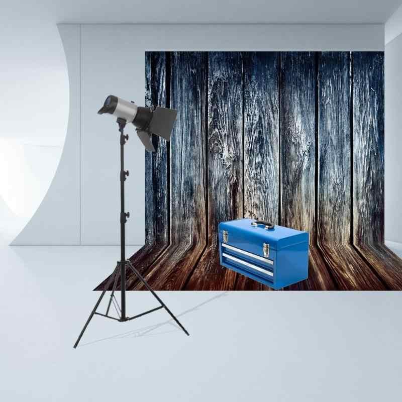 ALLOYSEED Vintage rétro planches de bois Texture photographie fond tissu pour Studio Photo photographie toile de fond décor accessoires
