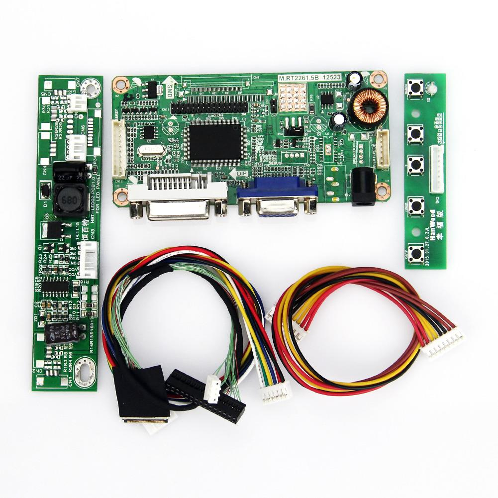 M.RT2261 M.RT2281 LCD/LED Controller Driver Board(VGA+DVI) For AB0970003 LVDS Monitor Reuse Laptop