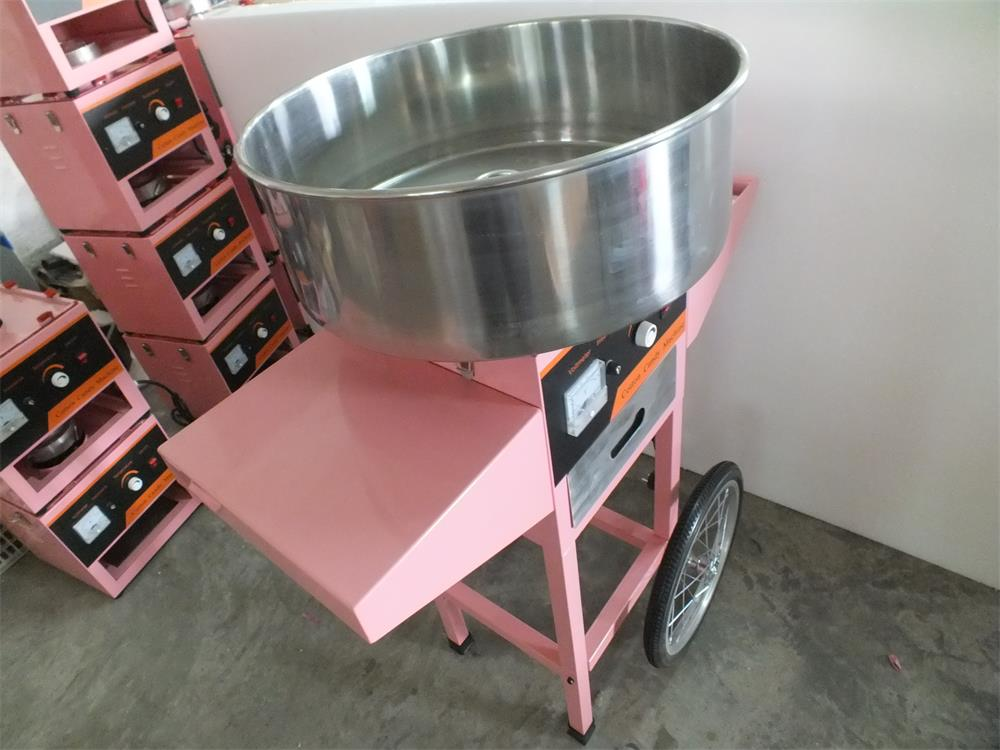 Hot selling automatic electric cotton candy machine machine cotton candy floss maker machine with wheelsHot selling automatic electric cotton candy machine machine cotton candy floss maker machine with wheels