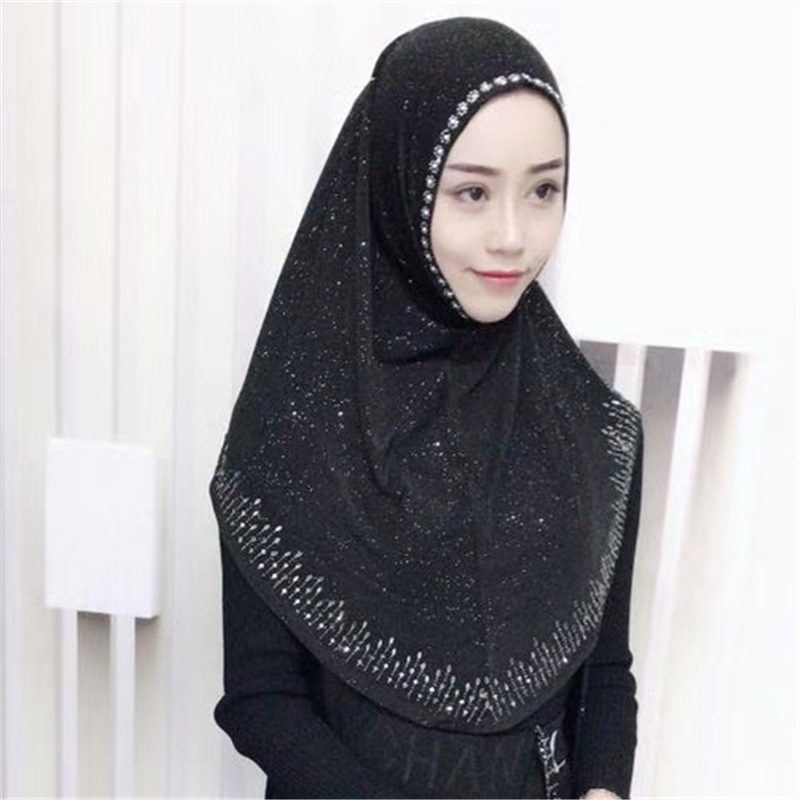 Muslim Headscarves Ready To Wear Hijab Women's Scarf