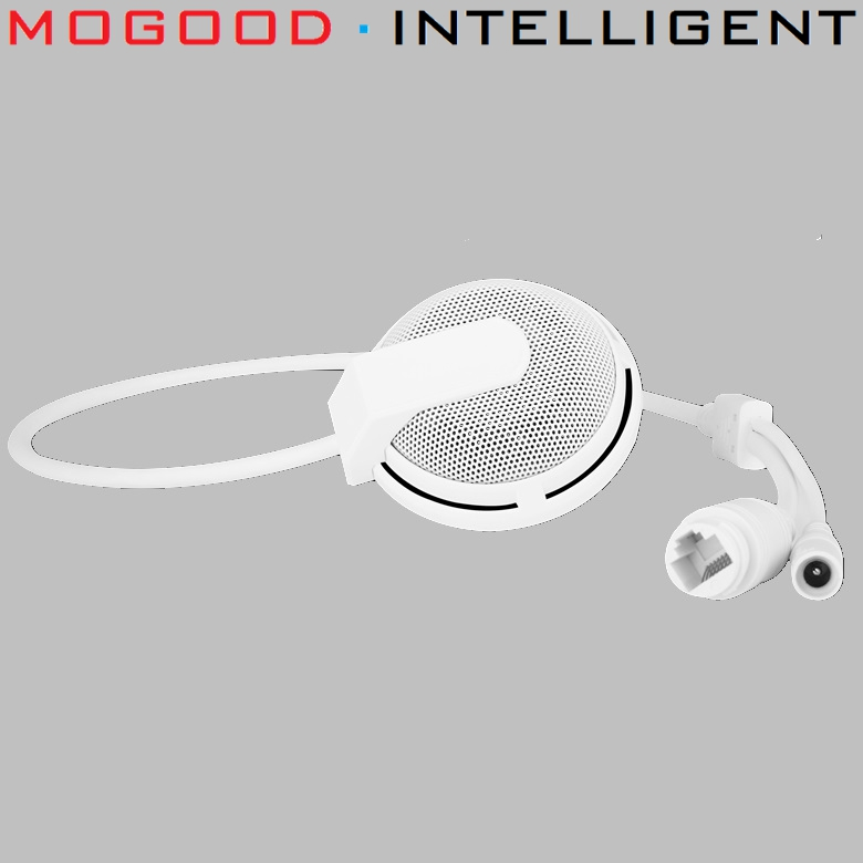 MoGood IP Microphone Support ONVIF Network Remote Intercom Pickup Noise Reduction High Sensitivity Fidelity and High
