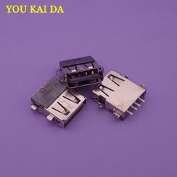 10 pçs/lote 100% Testado 2.0 USB jack Porto Substituição do Conector USB Tomada USB para Acer 5750 5755G Z ZG 5252 5551