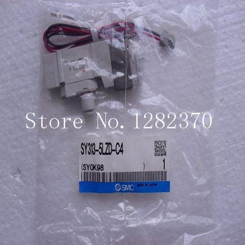 [SA] New Japan genuine original SMC solenoid valve SY313-5LZD-C4 spot --2PCS/LOT[SA] New Japan genuine original SMC solenoid valve SY313-5LZD-C4 spot --2PCS/LOT