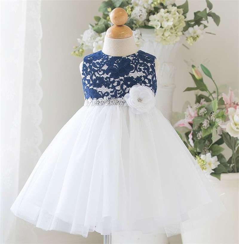 46a8f7d5fa30 2019 New Born Baby Girl Summer Tutu Dress Christening Gown Princess ...