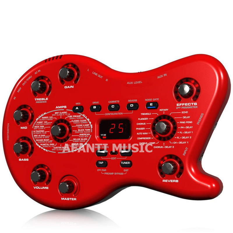 Afanti Music Electric Guitar / Bass Effects (EFF-103) afanti music diy guitar diy electric guitar body ajb 155