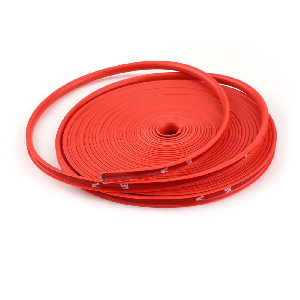 8M Car-styling Car Rim Sticker Wheel Hub Protective Paste Ring Tire Guard Rubber Strip Durable Powerful Car Rim Edge Sticker