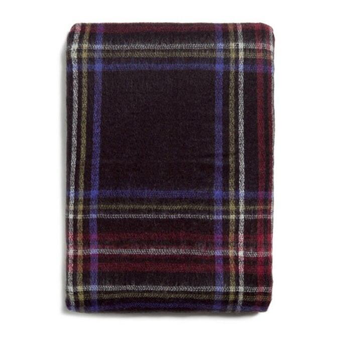 140*140 см унисекс для женщин и мужчин теплое одеяло большой Тартан шарф шаль Bufandas плед уютные проверенные пашмины Шарфы - Цвет: Red