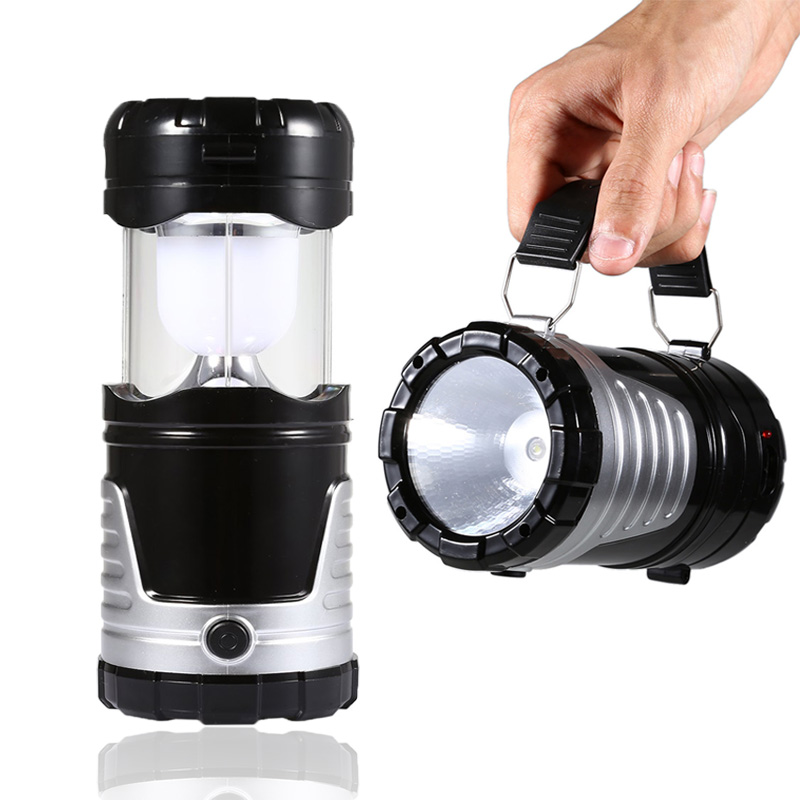 Camping LED Lights Rechargeable USB Waterproof Lantern Outdoor Hiking Tent Lamps
