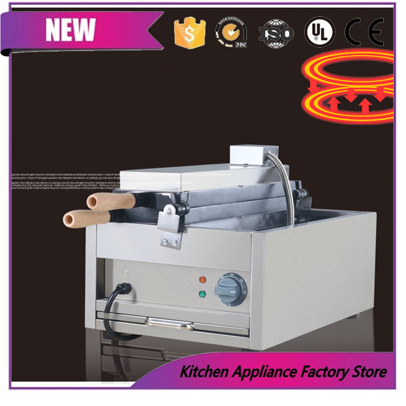 Free shipping by express 110V 220V ice cream Hanging bell machine Hanging bell waffle maker machine - 5