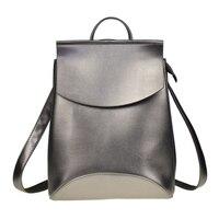 Hot2017 Fashion Women Backpack High Quality Youth Leather Backpacks For Teenage Girls Female School Shoulder Bag