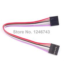 5PCS/Lot 6Pin F/F Jumper Wire 200mm Female to Female Dupont Cable for Arduino