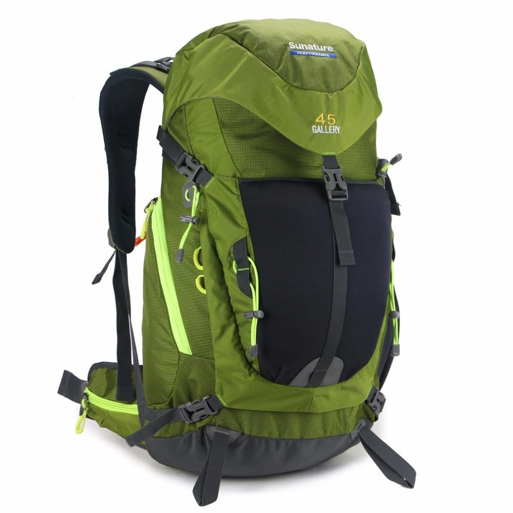 ФОТО Men's women's military Waterproof 45L laptop Backpack Rucksack Bag with Rain cover JL3201