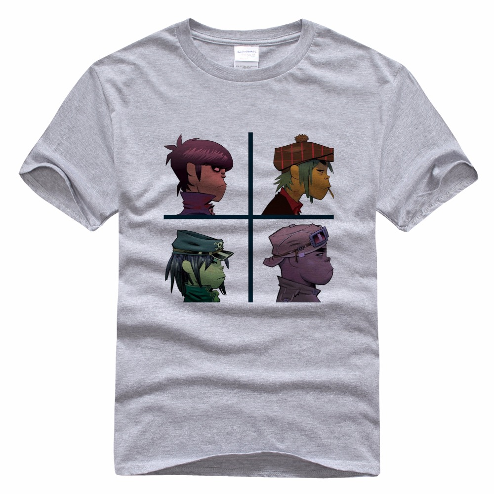 Gorillaz Band Personality T Shirt Shirts For Men Male