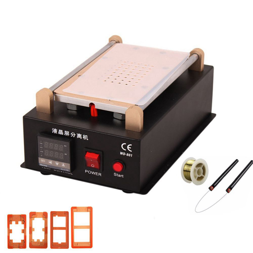 LCD Repair Tool Kit Build-in Vacuum Pump Touch Screen Separator For IPhone Samsung Glass Lens Repair With Mould 4 5 6 Plus