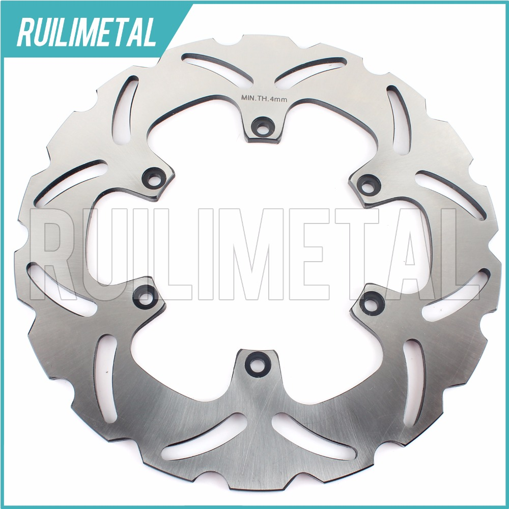 Rear Brake Disc Rotor for KTM  950 990 Adventure R 2007 2008 2009 2010 2011 2012 S SUPER ENDURO 690 Supermoto 2007 2008 07 08 car rear trunk security shield shade cargo cover for nissan qashqai 2008 2009 2010 2011 2012 2013 black beige