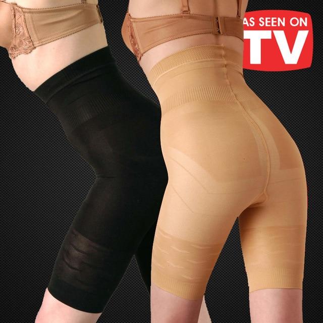 High Waist Trainer Tummy Control Panties Butt Lifter Body Shaper Corsets Seamless Enhancer Shapewear Underwear Panty Plus Size
