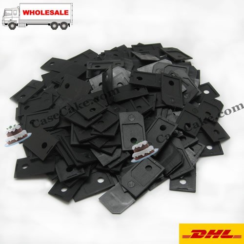 100 Pieces/Lot Wholesale Micro Sim Card Adapter MicroSIM for iPad For iPhone4 4S+ Free Shipping registered post