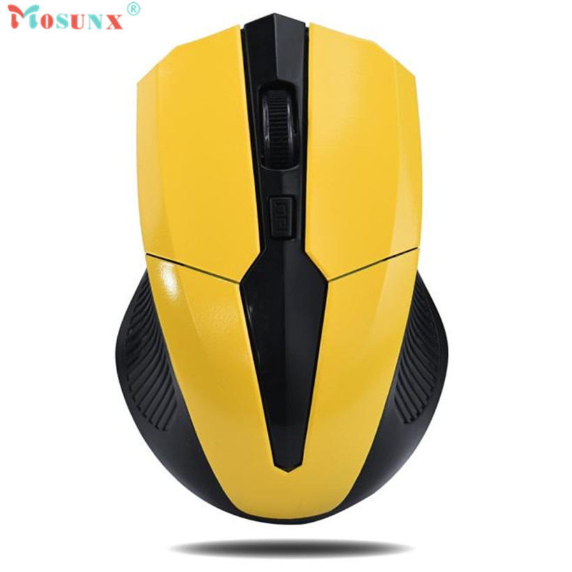 Mosunx Advanced Top Department High Quality 2.4GHz Mice Optical Mouse Cordless USB Receiver PC Computer Wireless for Laptop 1PC