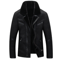 2016 new arrival winter high quality warm suede fur coat men casual jacket men thick liner.jpg 200x200
