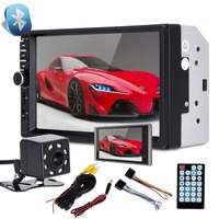 Kingslim Car Radio MP5 player 7018B Touch Screen mirror link 7inch Multimedia Player USB 2din Car MP5 Player+Rear View Camera
